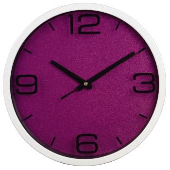 Настенные часы HAMA PG-300 H-113969, аналоговые,  розовый