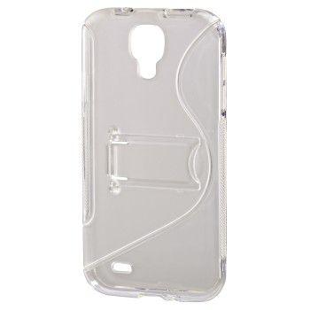 Чехол (клип-кейс) HAMA TPU Combi Case, для Samsung Galaxy S4, прозрачный [00122997]