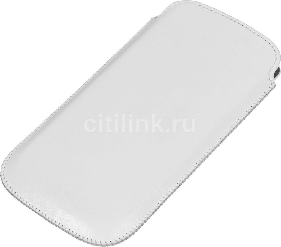 Чехол (футляр) HAMA Vintage, для Samsung Galaxy S4, белый [00122901]