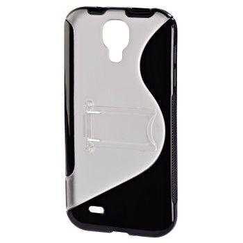 Чехол (клип-кейс) HAMA TPU Combi Case, для Samsung Galaxy S4, прозрачный [00122996]