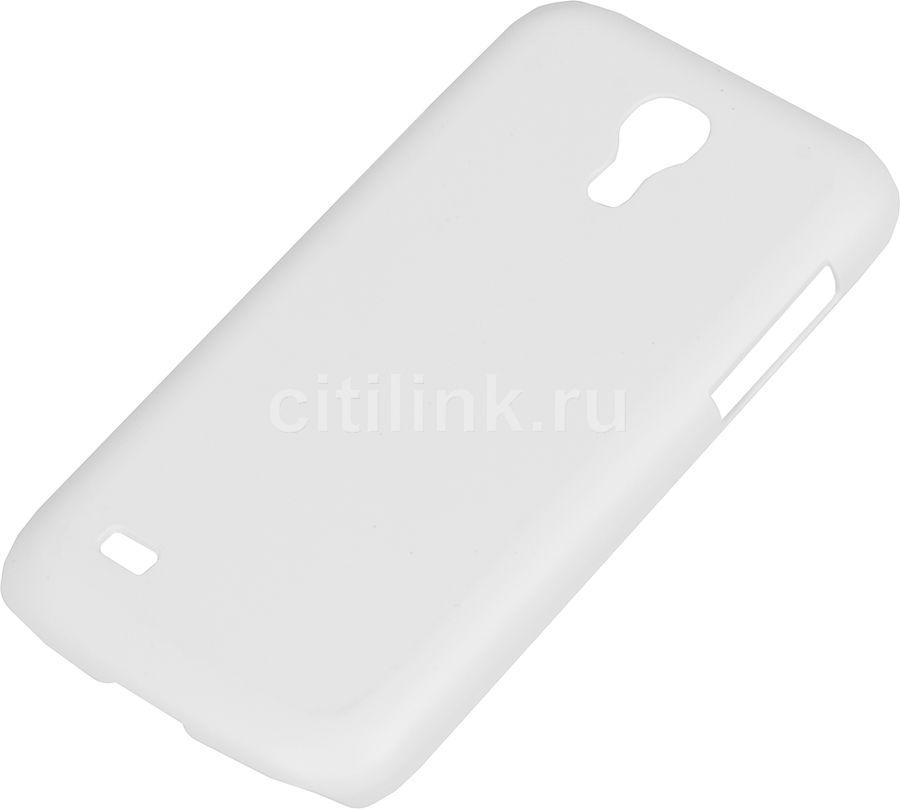 Чехол (клип-кейс) HAMA Rubber, для Samsung Galaxy S4 mini, белый [00124609]