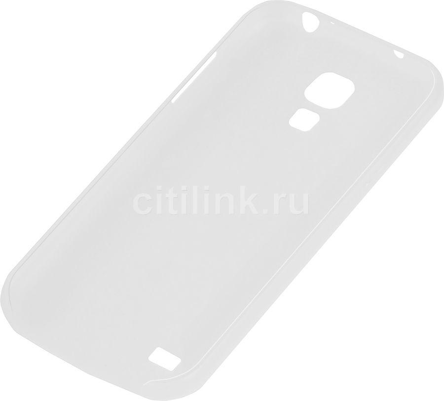 Чехол (клип-кейс) HAMA Ultra Slim, для Samsung Galaxy S4 mini, прозрачный [00124615]