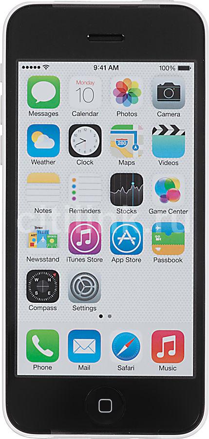 Смартфон APPLE iPhone 5c ME547RU/A  16Gb, белый