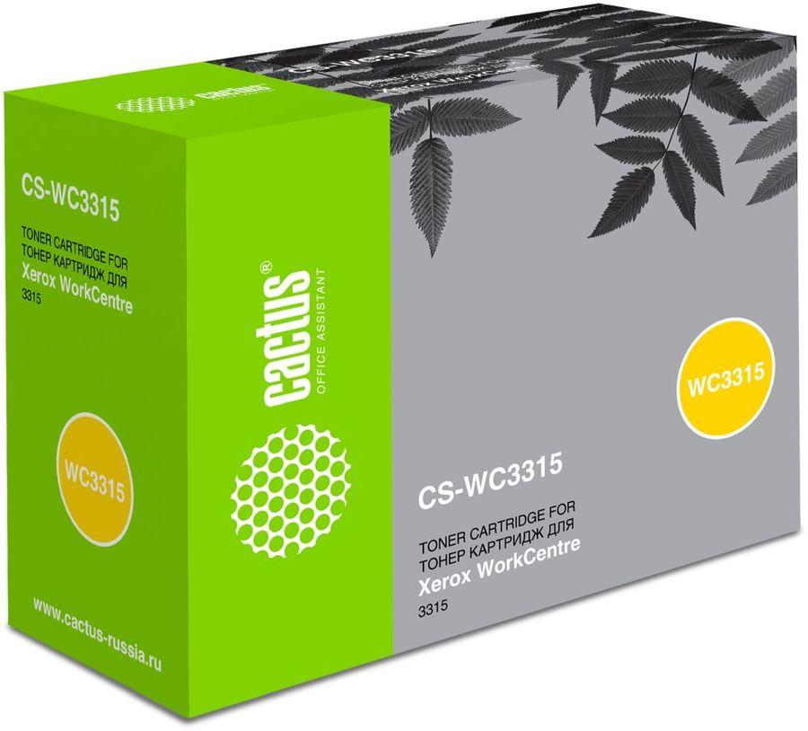 Картридж CACTUS CS-WC3315, 106R02308, черный