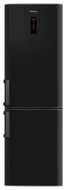 Холодильник BEKO CN 332220 B,  двухкамерный,  черный