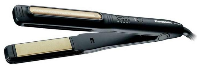 Выпрямитель для волос PANASONIC EH-HW58-K865,  черный и бежевый
