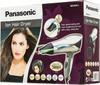 Фен PANASONIC EH5573, 2000Вт, серебристый и черный вид 8