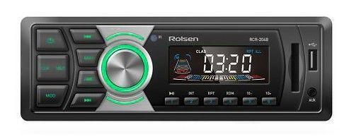 Автомагнитола ROLSEN RCR-204G,  USB,  SD/MMC