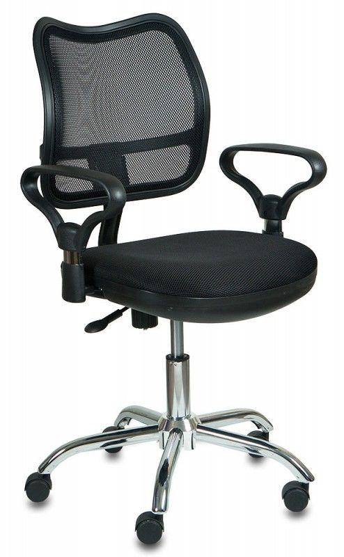 Кресло БЮРОКРАТ CH-799SL, на колесиках, ткань, черный [ch-799sl/tw-11]