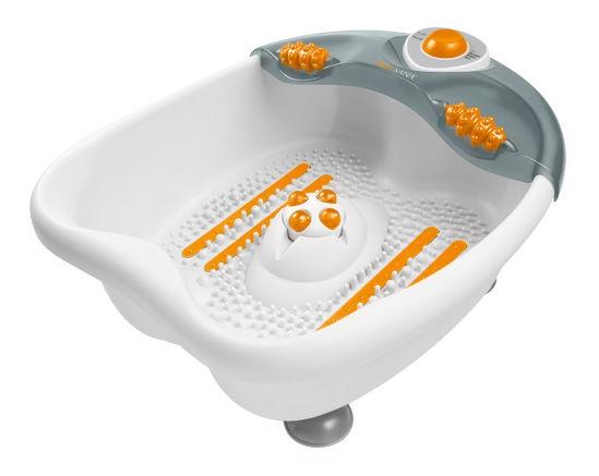 Гидромассажная ванночка для ног MEDISANA WBW,  серый,  белый
