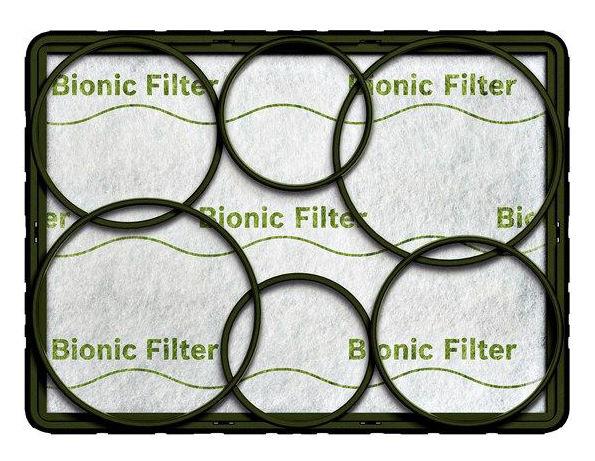 Выходной фильтр BOSCH BBZ11BF,  1 шт., для пылесосов BOSCH