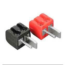 Штекер Hama H-42842 для акустических систем (2шт) красный/черный винтовой