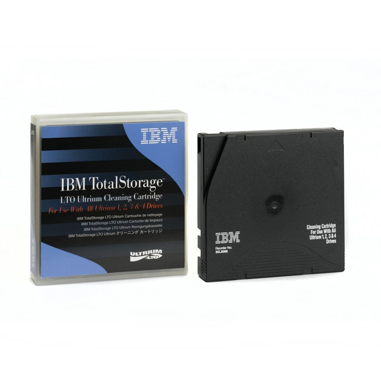 Носитель ленточный IBM LTO Ultrium Cleaning  Cartridge  Universal  (35L2086)