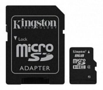 Флешка USB KINGSTON DataTraveler +FC mSDHC 32Gb cl4 8Гб, USB2.0 [dt111/8gb]