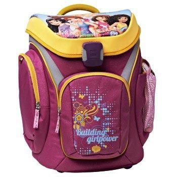 Ранец Hama Friends All Girl Explorer розовый/оранжевый принцессы 3 предмета [00124742]