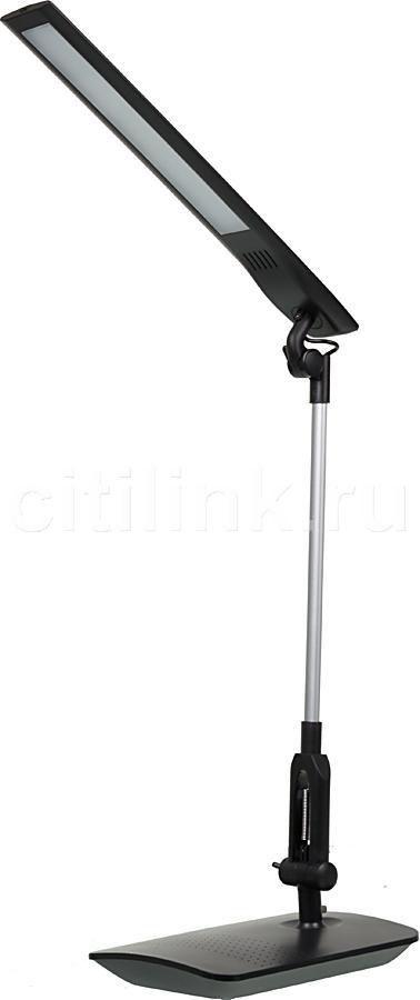 Светильник настольный БЮРОКРАТ DEL-100 на подставке,  5Вт,  белый [del-100wh]