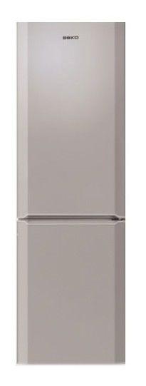 Холодильник BEKO CN 332102 S,  двухкамерный,  серебристый