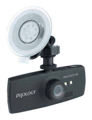 Видеорегистратор PROLOGY iREG-5200 HD черный [ireg-5200hd]