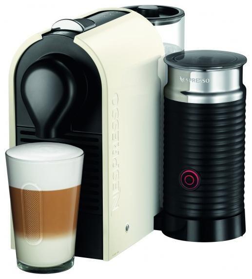 Капсульная кофеварка KRUPS Nespresso UMilk XN 260110, 1260Вт, цвет: белый [8000035022]