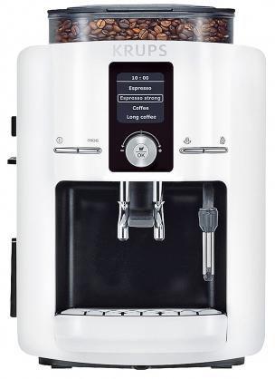 Кофемашина KRUPS EA8245,  белый