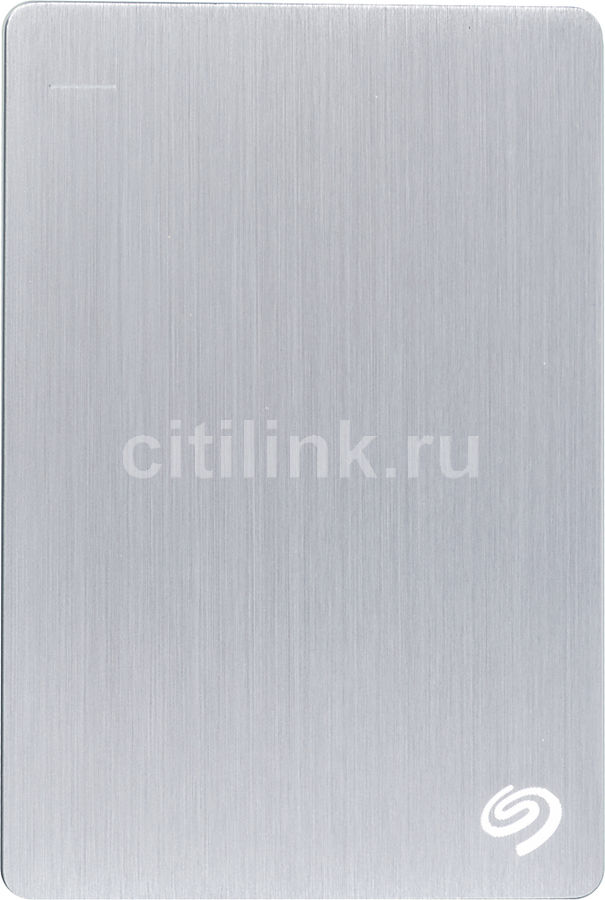 Внешний жесткий диск SEAGATE Backup Plus STDR1000201, 1Тб, серебристый