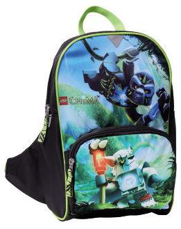 Рюкзак Lego Chima Gorilla полиэстер черный/зеленый [00124756]