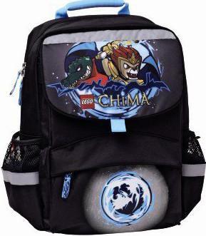Ранец Hama Chima Lion Starter полиэстер черный/синий [00124745]