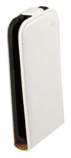 Чехол (флип-кейс) ARMOR-X flip Slim Vintage, для Samsung Galaxy S4 mini, белый
