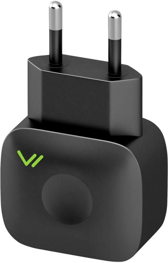 Сетевое зарядное устройство VERTEX Slim Line (SLTC2100MICUSBB),  2.1A,  черный
