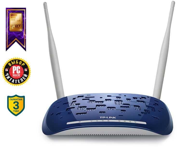 Беспроводной роутер TP-LINK TD-W8960N,  ADSL 2/2+