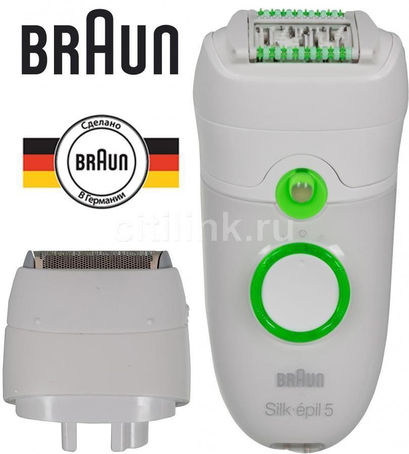 Эпилятор BRAUN SE5780 белый [81375314]