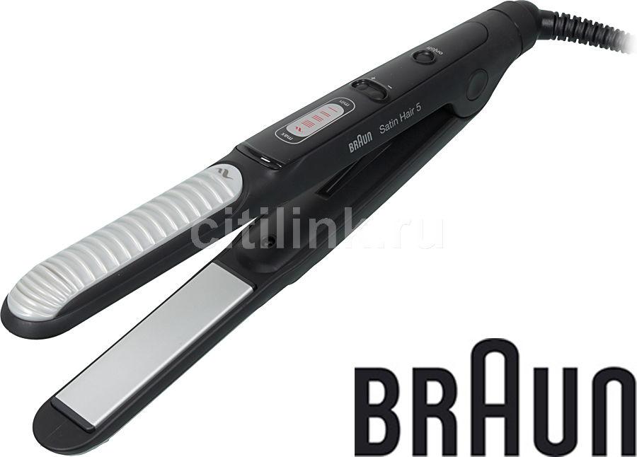 Выпрямитель для волос BRAUN ST 550 MN,  черный [81463232]