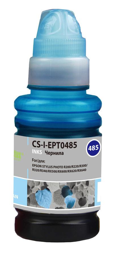 Чернила CACTUS CS-I-EPT0485, для Epson, 100мл, светло-голубой