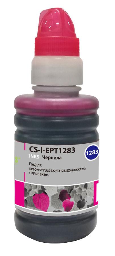 Чернила CACTUS CS-I-EPT1283, для Epson, 100мл, пурпурный