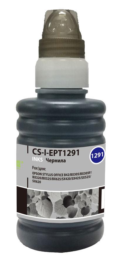 Чернила CACTUS CS-I-EPT1291, для Epson, 100мл, черный