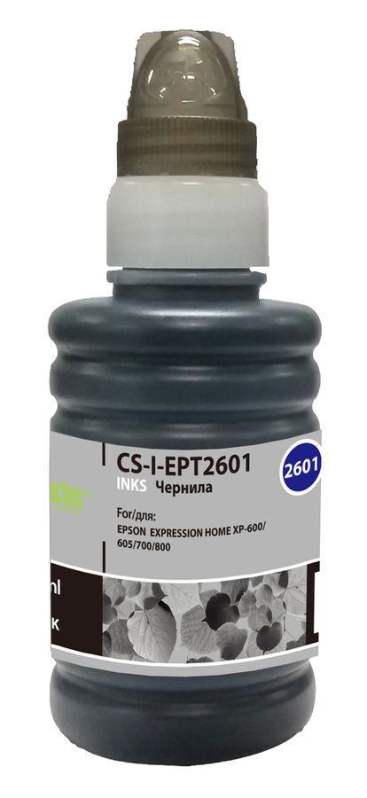 Чернила CACTUS CS-I-EPT2601, для Epson, 100мл, черный