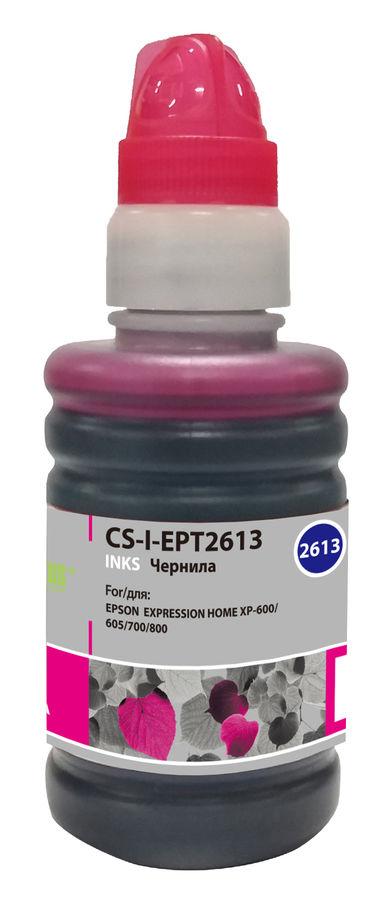 Чернила CACTUS CS-I-EPT2613, для Epson, 100мл, пурпурный