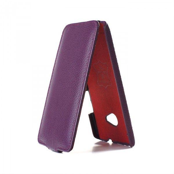 Чехол (флип-кейс)  iRidium, для HTC One, фиолетовый