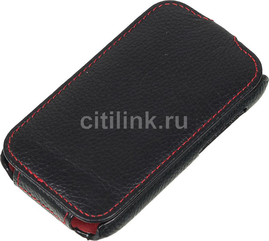 Чехол (флип-кейс)  iRidium, для HTC One E9+, черный