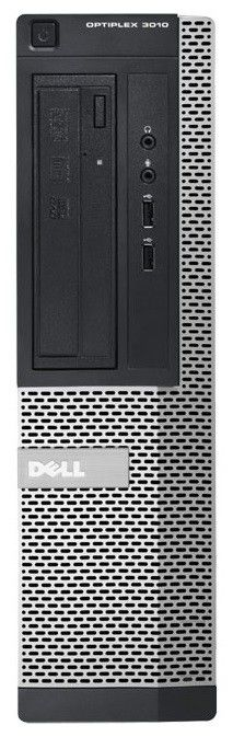 Компьютер  DELL Optiplex 3010 DT,  Intel  Core i3  3240,  DDR3 4Гб, 500Гб,  Intel HD Graphics 2500,  DVD-RW,  Windows 7 Professional,  черный и серебристый [3010-8461]