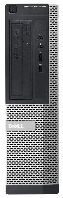 Компьютер  DELL Optiplex 3010 SFF,  Intel  Core i3  3240,  DDR3 4Гб, 500Гб,  Intel HD Graphics,  DVD-RW,  Windows 7 Professional,  черный и серебристый [3010-8478]