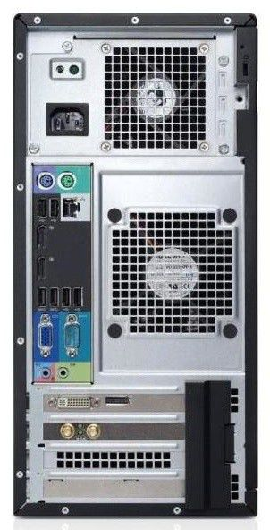 Компьютер  DELL Optiplex 3010 MT,  Intel  Core i3  3240,  DDR3 4Гб, 500Гб,  Intel HD Graphics,  DVD-RW,  Windows 7 Professional,  черный и серебристый [3010-8430]