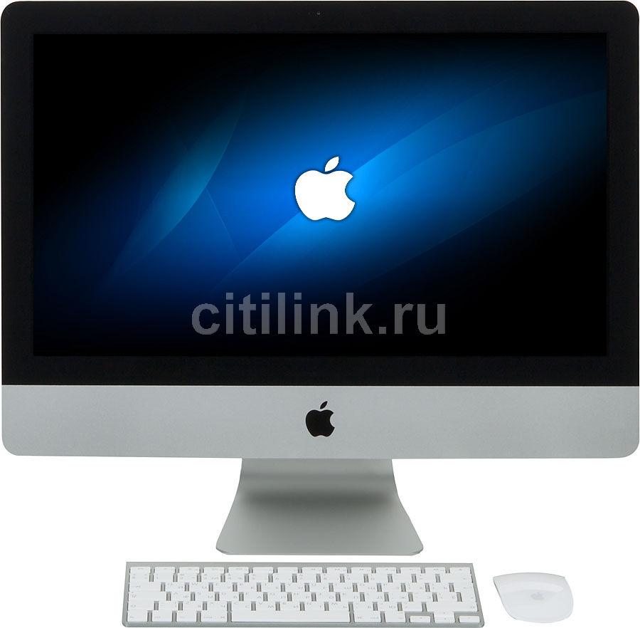 Моноблок APPLE iMac ME086RU/A, Intel Core i5 4570, 8Гб, 1000Гб, Intel Iris Pro, Mac OS X, серебристый и черный