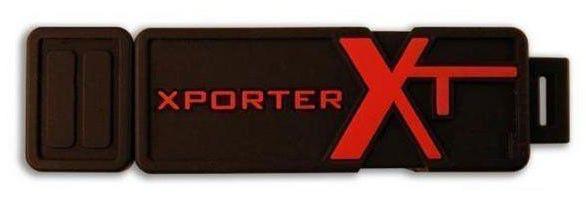 Флешка USB PATRIOT X-Porter XT Boost 2Гб, USB2.0, черный [pef2gusb]