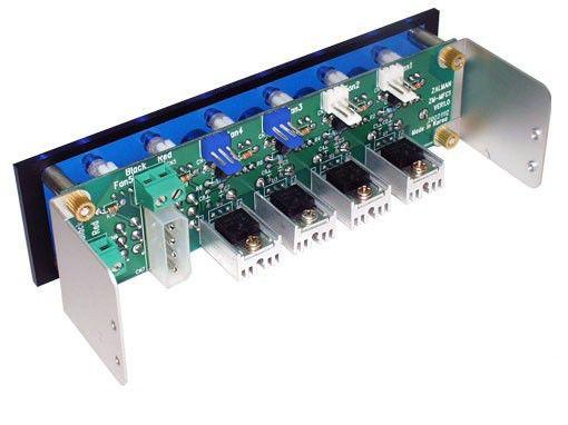 Контроллер Zalman 6 канальный для вентиляторов ZM-MFC1