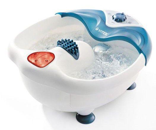 Гидромассажная ванночка для ног VITEK 1389-VT-01],  зеленый,  белый