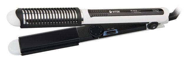 Выпрямитель для волос VITEK VT-1315,  черный и белый [1315-vt-02]