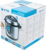 Мультиварка-скороварка VITEK VT-4201,  1190Вт,   серебристый/черный [4201-vt-01] вид 10