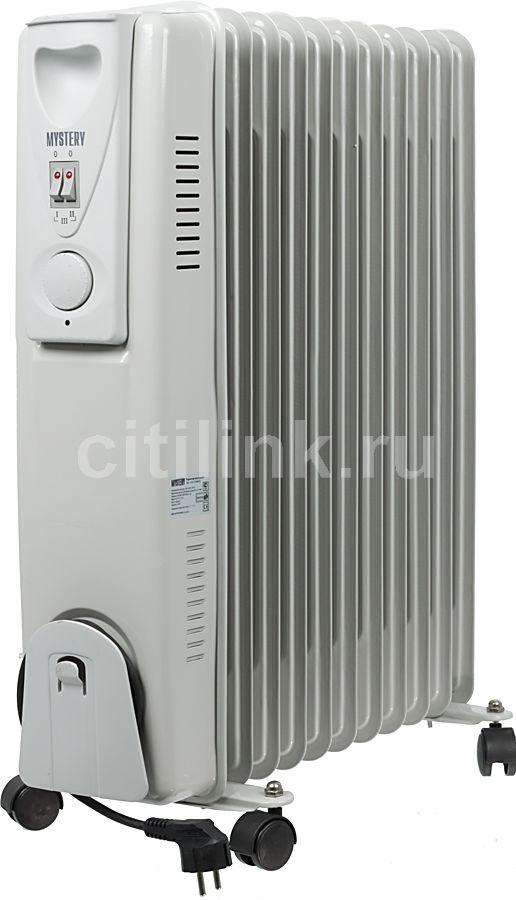 Масляный радиатор MYSTERY MH-1102, 2500Вт, серый