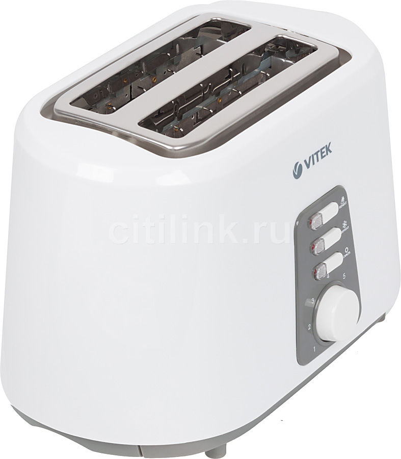 Тостер VITEK VT-1581,  белый [1581-vt-01]